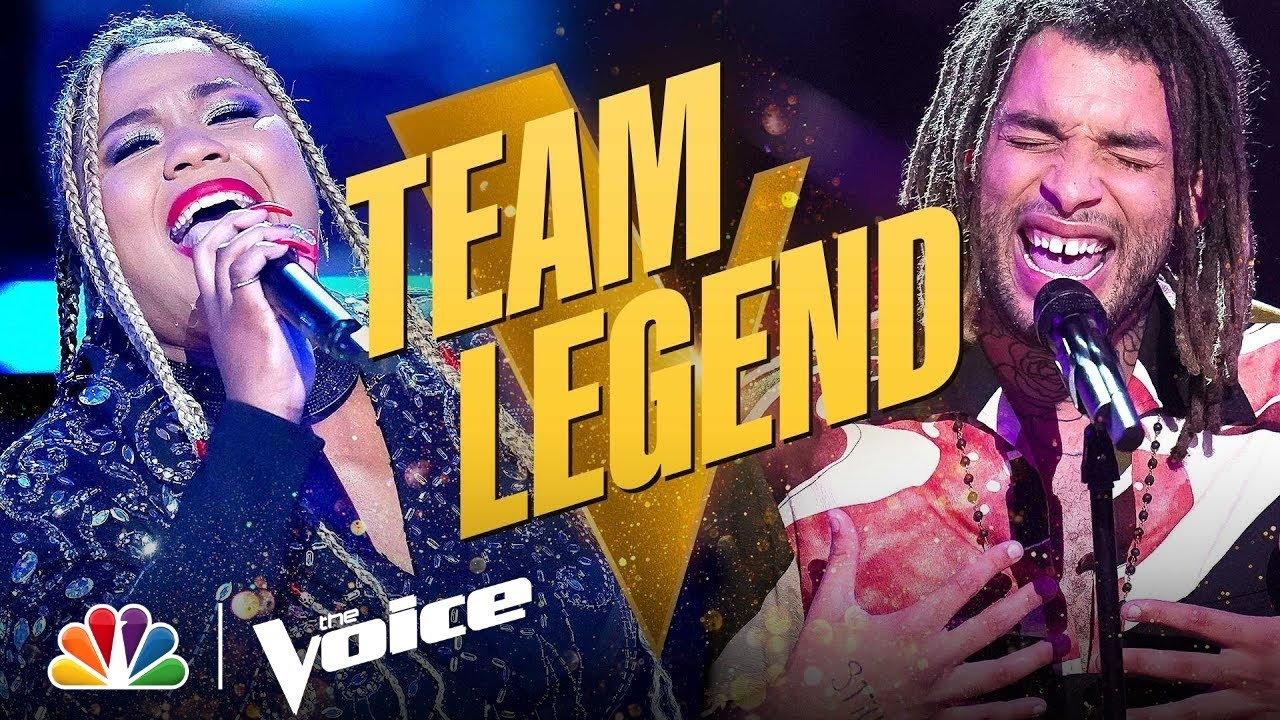 Download Beautiful Performances from Team Legend's BrittanyBree and Samuel Harness   The Voice Knockouts 2021