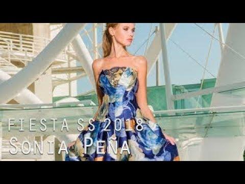 c8aefbe30 Vestidos de fiesta Primavera Verano Sonia Peña 2018 - YouTube