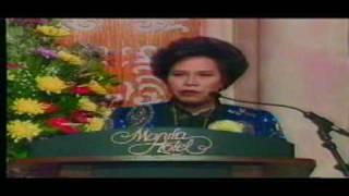 1998 Presidential Debate (part 2/10)