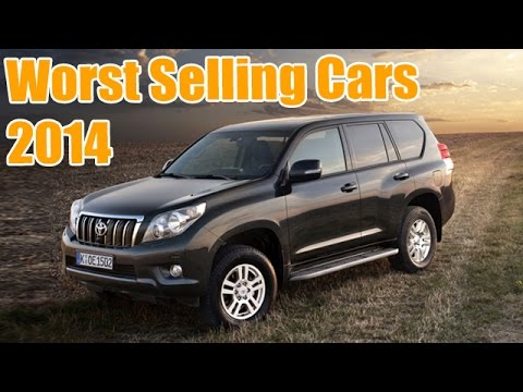 Top 10 Worst Selling Cars Of 2014 In India !