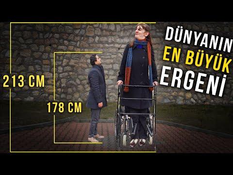 Dünyanın En Uzun Kızı : 6 Yaşında Ergenliğe Girdi (213 cm)