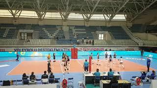 Vakifbank - İlbank Genc Kizlar Turkiye şampiyonası Final Grubu Maçı 2.Set