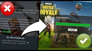 TUTO : LANCER FORTNITE SANS FILE D'ATTENTE / SUPPRIMER LA FILE D'ATTENTE SUR FORTNITE !