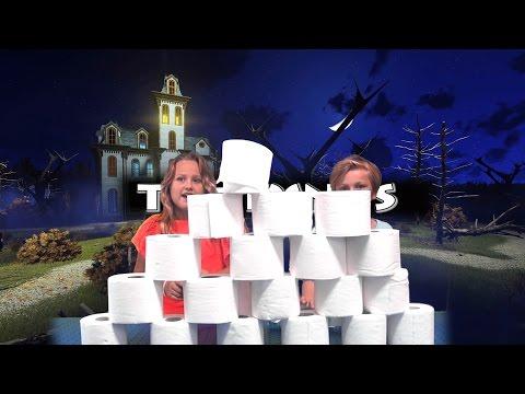 TYNYS / THE MUMMY CHALLENGE!! (HALLOWEEN CHALLENGE)