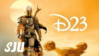 D23 REACTION! | The Mandalorian Trailer, She-Hulk, Moon Knight, Ms. Marvel and Disney+
