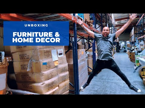 Unboxing: New Overstock Furniture & Home Decor (English)