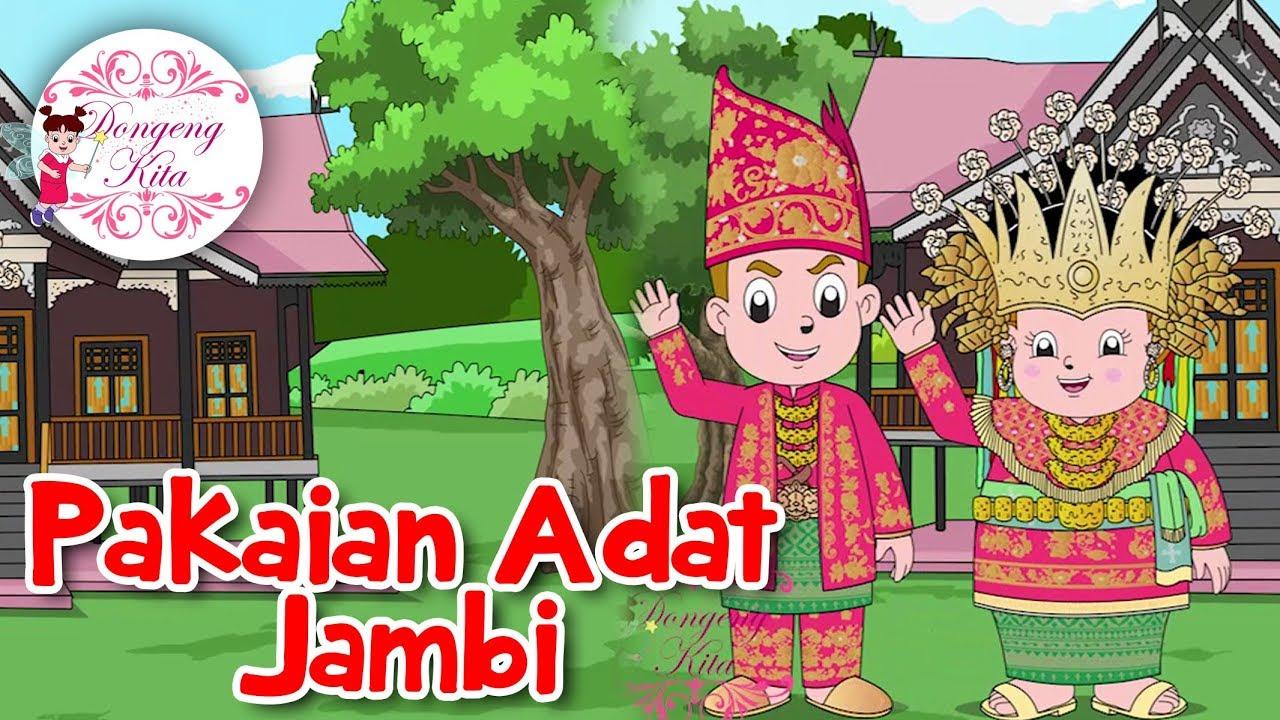 Gambar Kartun Pakaian Adat Sumatera Utara