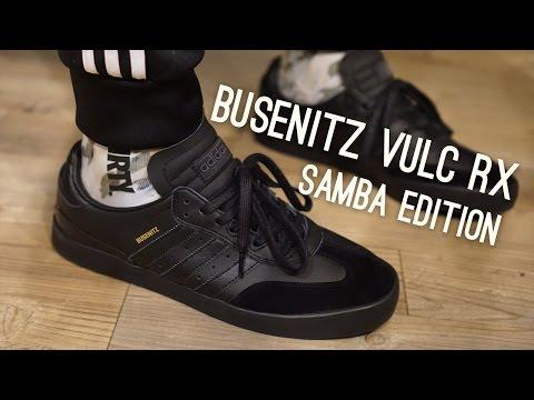Adidas Skateboarding Busenitz Vulc RX (Samba Edition) Overview - YouTube