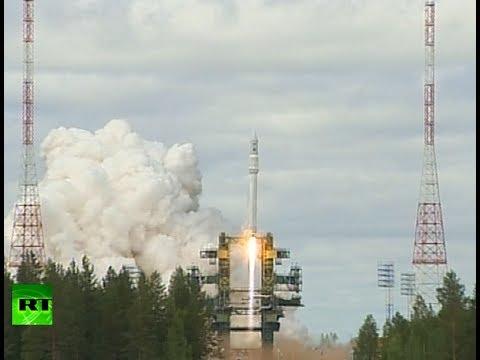Blast off video: Russian 'Angara' orbit rocket test launch