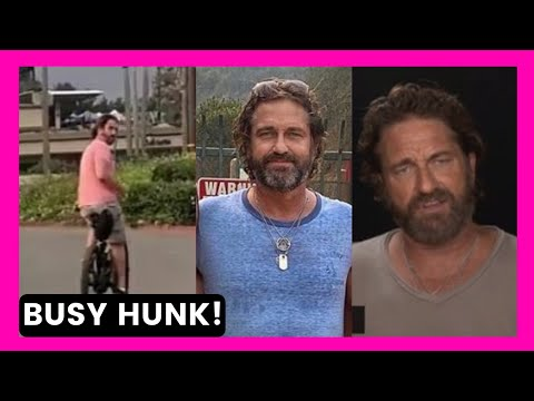 Gerard Butler/Sept 2020/SUPER BUSY HUNK Papped Around Malibu ! Check Out The Cool VIDEO ! LA- Part 2