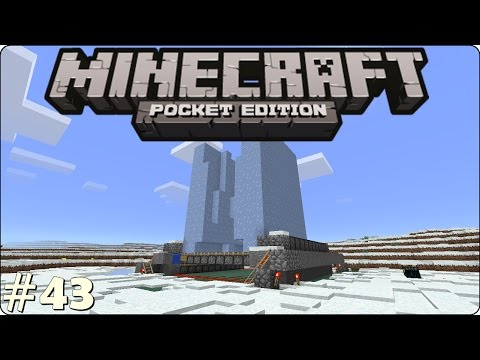 Minecraft PE - A Farm de GELO!! - Survival - Gameplay #43