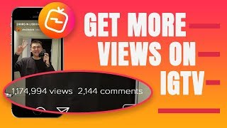 IGTV GUIDE - 8 TIPS TO GET MORE VIEWS ON YOUR IGTV CHANNEL