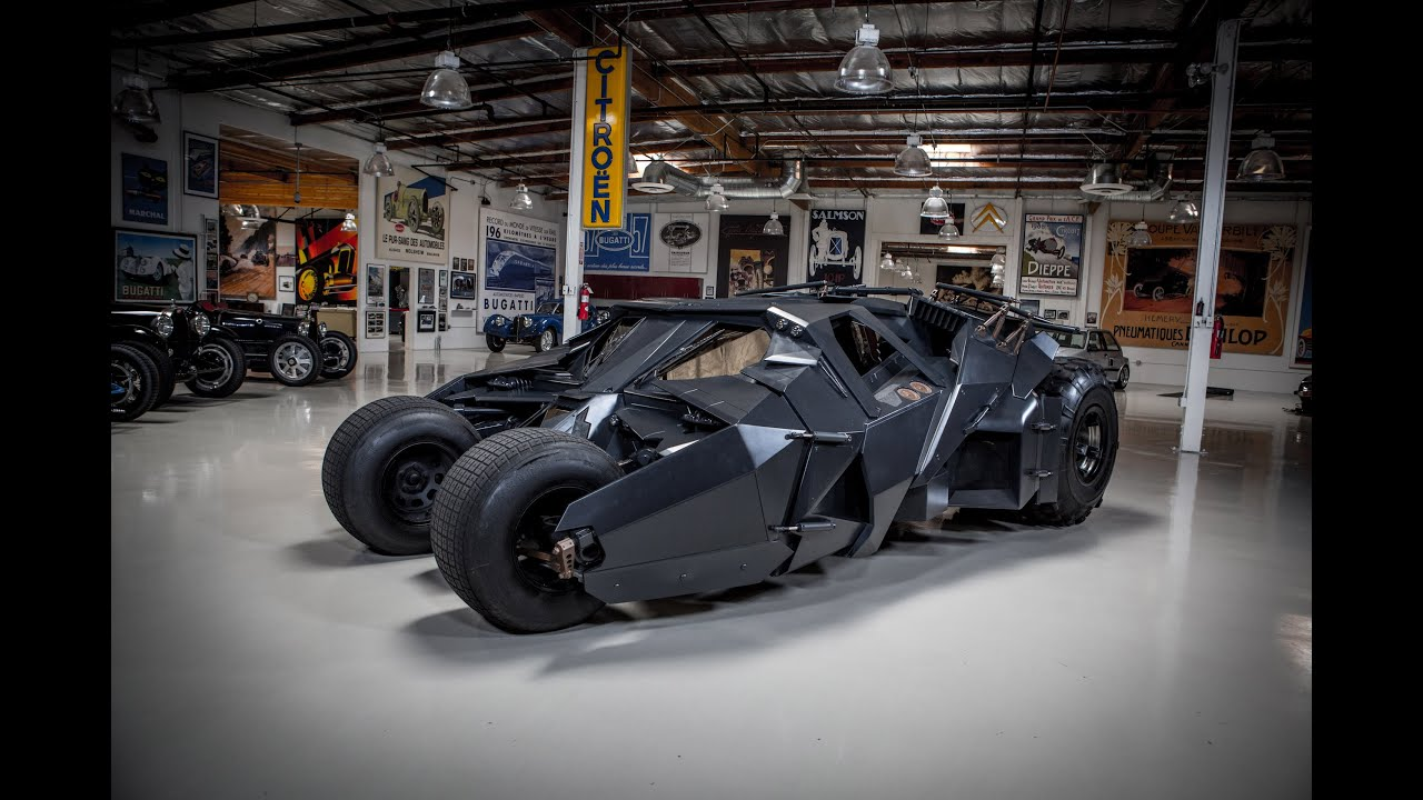 画像: Batman's Tumbler - Jay Leno's Garage youtu.be