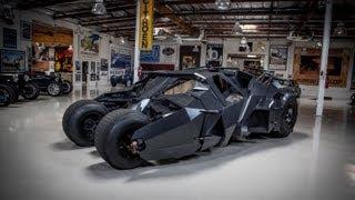 Video Batman's Tumbler - Jay Leno's Garage download MP3, 3GP, MP4, WEBM, AVI, FLV Juni 2018