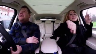 "Adele singing ""wannabe"" (Spice Girls)"