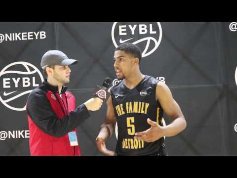 Nike EYBL interview with The Family Detroit (MI) David DeJulius