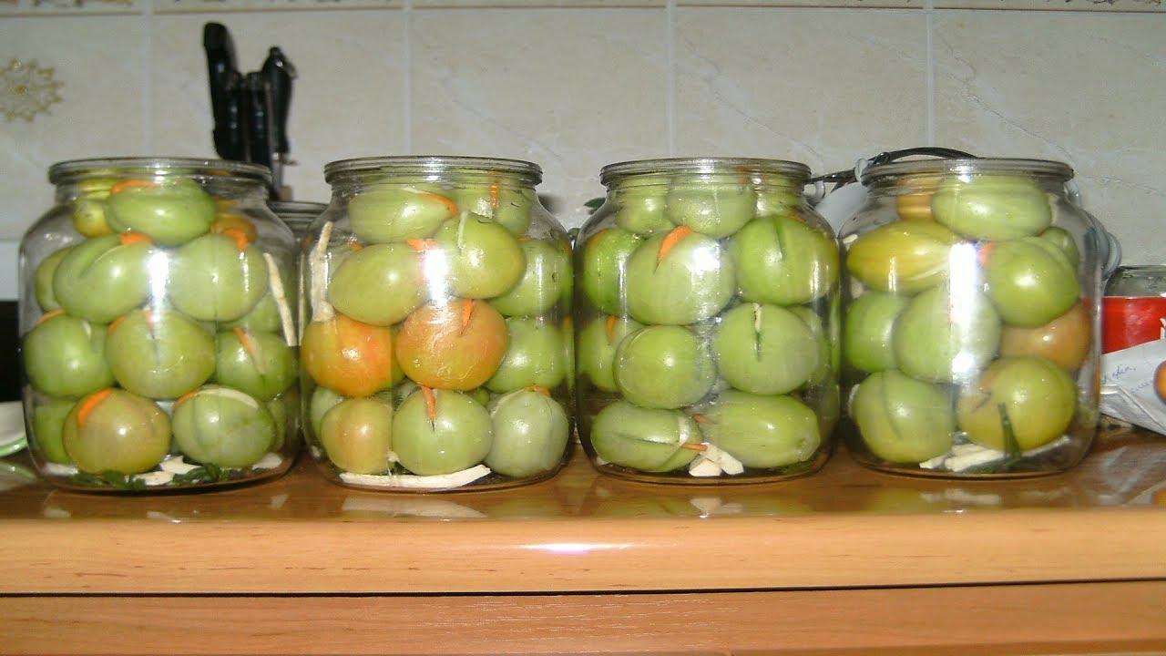 зелёные помидоры фото