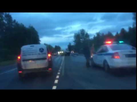авария рузский район volvo
