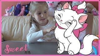 Интерактивная кошка 🐈 Sweet pets petzzz my carry pets keenway cat