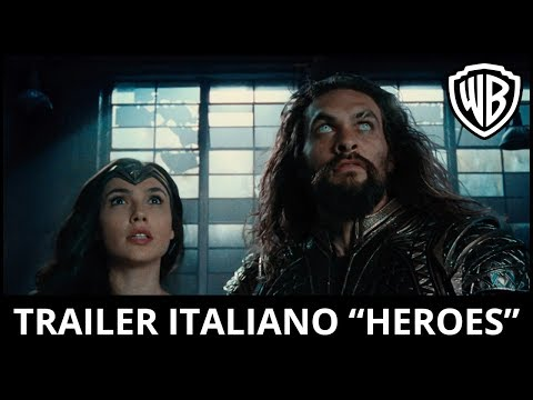 "Thumbnail: JUSTICE LEAGUE - Trailer Ufficiale Italiano ""Heroes"" 