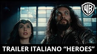 "JUSTICE LEAGUE - Trailer Ufficiale Italiano ""Heroes"" 