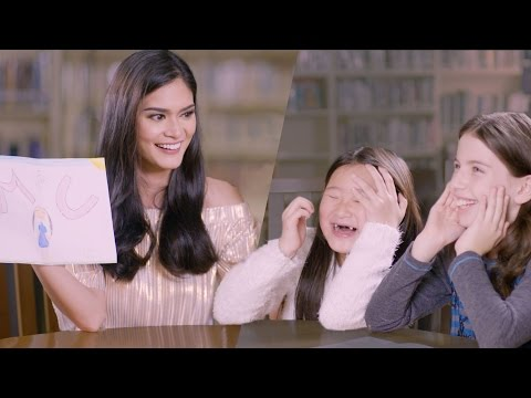 Pia Wurtzbach Asks Kids: Who's Your Miss Universe? // Omaze
