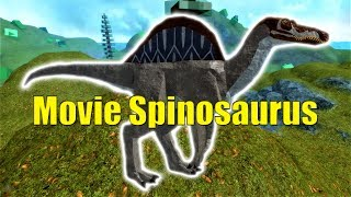 Movie Spinosaurus Showcase! - Roblox Dinosaur Simulator
