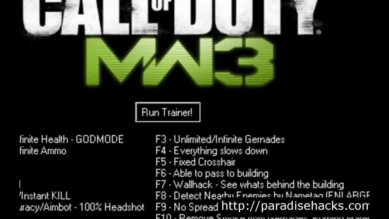 Images of Cod Mw3 Trainer - #rock-cafe