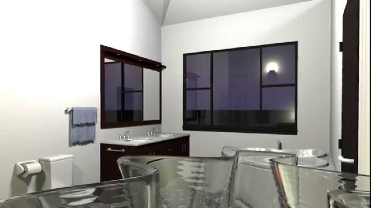 SWEET HOME 3D - Modern style - HONOR DESIGN - YouTube