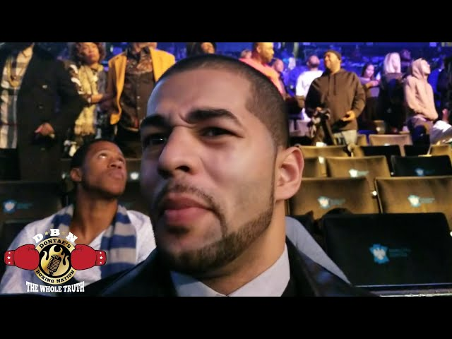SADAM ALI THOUGHTS ON FACING ERROL SPENCE IMMEDIATELY AFTER SPENCE-PETERSON