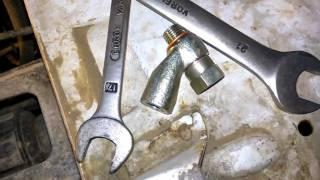 Подключение стрелочного манометра для масла Ваз 21213 / Oil pressure sensor Installation