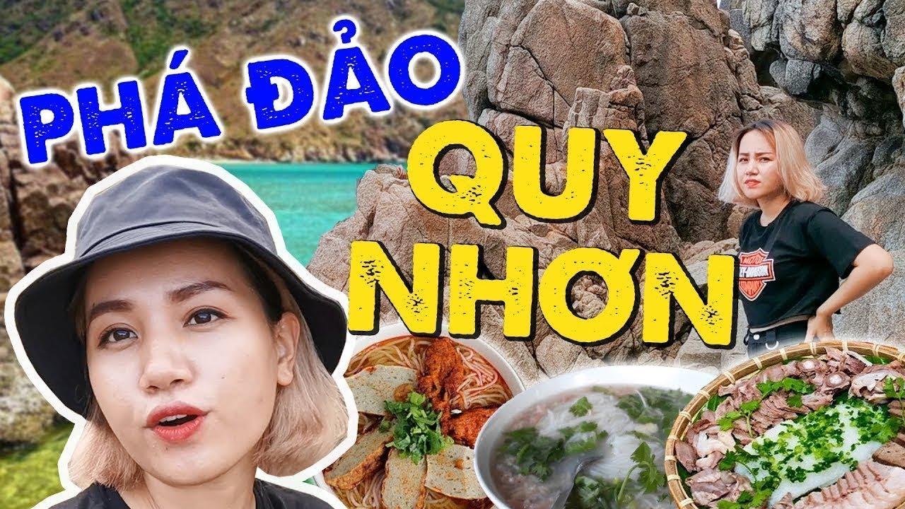 Cùng Châu Giang phá đảo Quy Nhơn : Thiên đường ăn uống, sống ảo siêu rẻ !