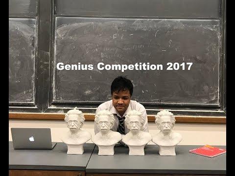 Genius Competition 2017