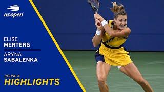 Elise Mertens vs Aryna Sabalenka Highlights