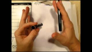 Review Schaeffer Viewpoint Calligraphy Fountain Pen