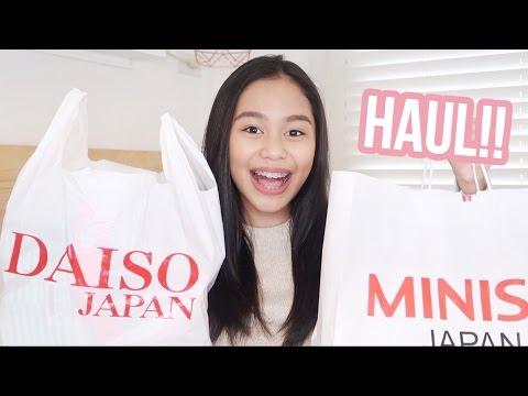 DAISO, Miniso & Mumuso Haul 2017! (Philippines) | ThatsBella