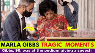 Marla Gibbs 'Scary' Moments at the Hollywood Walk of Fame Unveiling