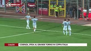 Cosenza, sfida al grande Torino in coppa Italia