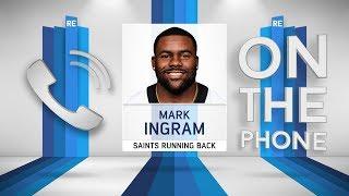 Saints RB Mark Ingram Talks Brees, Kamara, Suspension & More w/Rich Eisen | Full Interview