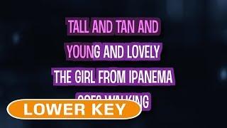 The Girl From Ipanema (Karaoke Lower Key) - Amy Winehouse