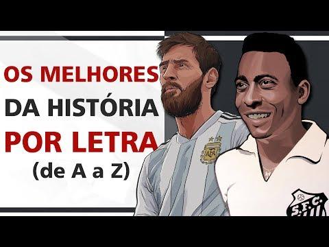 Melhores jogadores da história POR LETRA (de A a Z) thumbnail