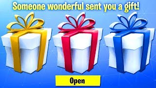 NEW Fortnite Gifting System GAMEPLAY! Gifting In Fortnite Release Date (Gifting Skins In Fortnite)