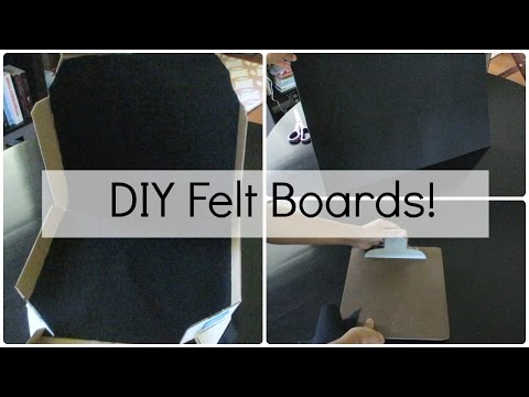 How to make felt board figures