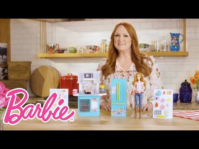 Barbie Kitchen Playset Movable Islands For Pioneer Woman On Sale At Walmart Ree Drummond Gets Her Own Doll