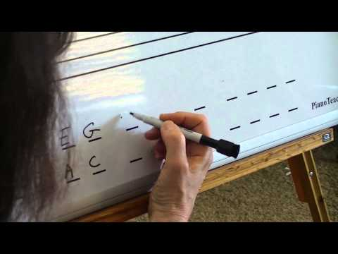 Music Teacher Lesson offers ideas for Music Magnet Dry Erase Boards!