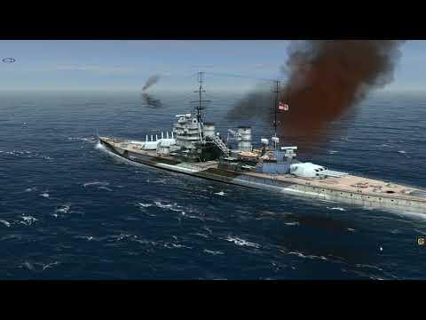 Atlantic Fleet HMS Lion vs DKM Bismarck