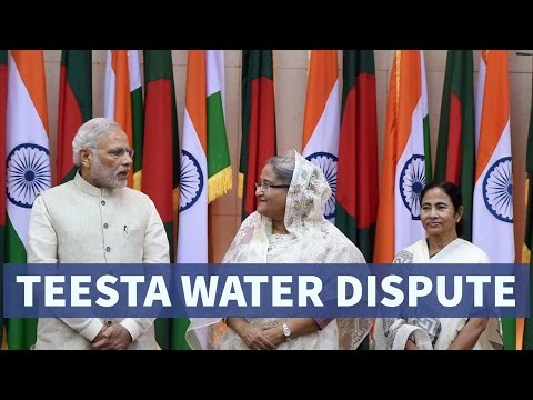Teesta River Issue b/w India & Bangladesh - तीस्ता नदी विवाद - UPSC/IAS