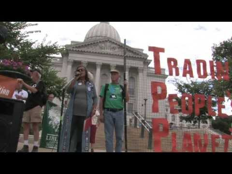 No Secret Trade Deals for the 1%! - No TPP!