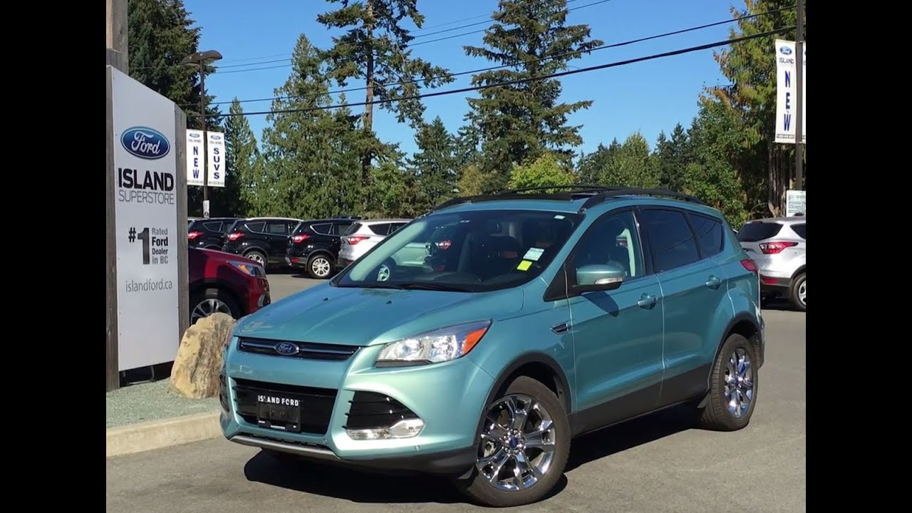 2013 ford escape sel awd ecoboost nav review island ford youtube. Black Bedroom Furniture Sets. Home Design Ideas