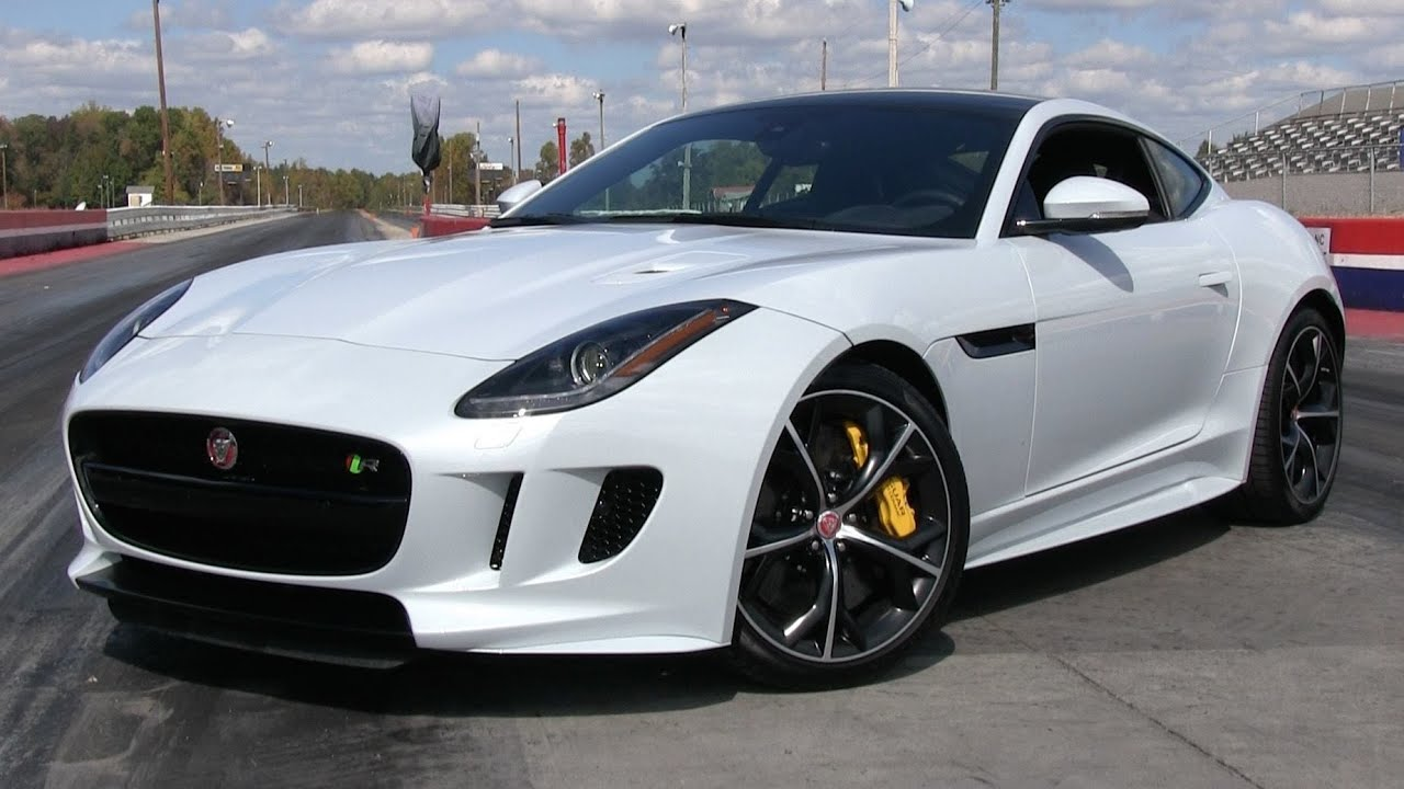 2016 jaguar f type r awd coupe start up road test and in depth review [ 1280 x 720 Pixel ]